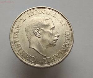 Дания 2 кроны 1945 год 75 лет со дня рождения Короля Кристиана X - IMG_20171020_122722.jpg