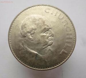Великобритания 1 крона 1965 год. Черчилль до 17.11 до 20-00 - SAM_0663.JPG