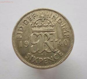 Великобритания 6 пенсов 1940 года до 17.11 до 20-00 - SAM_0677.JPG