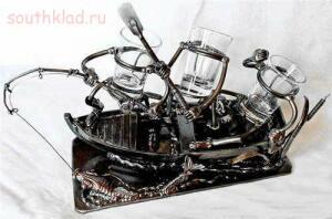 Поделки из того что попадается на копе - esculturas-vidrio-11.jpg