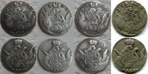 Копии монет Елизаветы Петровны - 5 копеек 1756.jpg
