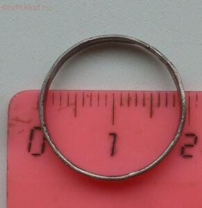 Кольцо Отъ Святыя Великомученицы Варвары. Серебро 84 пробы - P1550041.JPG