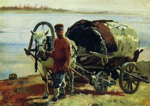 Телега - 640px-Корзухин_Возок_1891.jpg