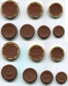 Керамические монеты Германии. - 1534346175141959925.jpg
