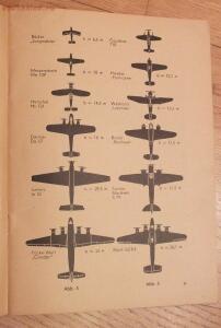 Библиотека лётчика. Немецкий справочник Das Erkennen von Flugzeugen Обнаружение самолётов  - DSCF6146.JPG