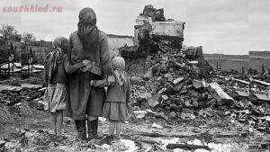Взрыв на празднике. Как фашисты сбросили бомбу на играющих детей - ruiny1.jpg