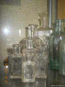 Аптечная посуда белого прозрачного стекла. - 8512986.jpg