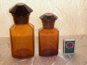 Аптечная посуда коричневого стекла - 1705334.jpg