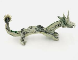 Необычные монеты - поделки из денег..jpg