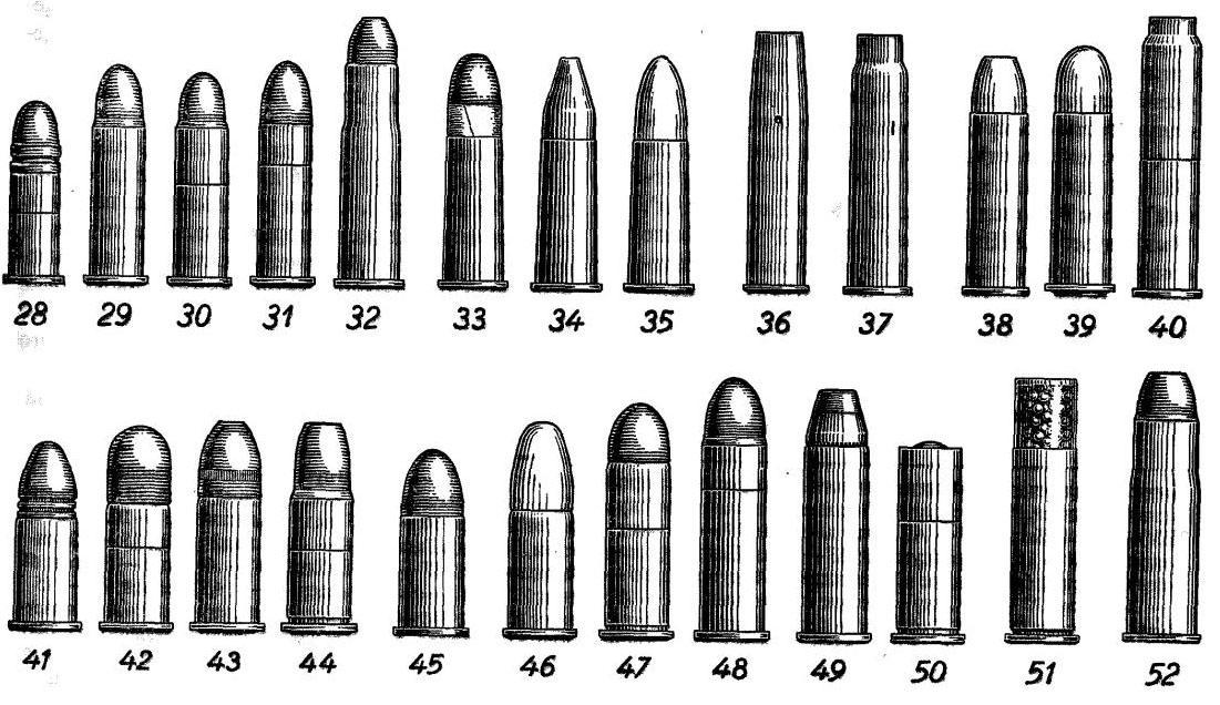 Патроны для пистолетов/револьверов