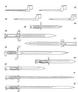 Штыки к магазинным винтовкам