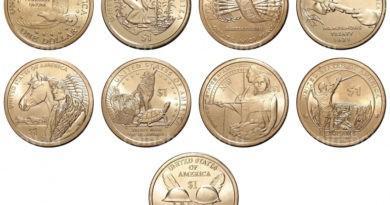 1 доллар Коренные жители Америки
