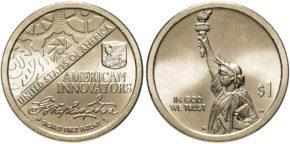 1 доллар Изобретения Америки