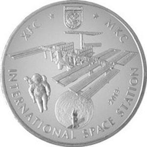 Казахстан, 50 тенге 2013, Космос - Международная космическая станция