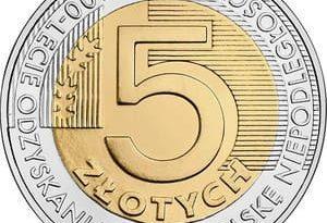 Юбилейные монеты Польши 5 злотых 2014-2019 гг.