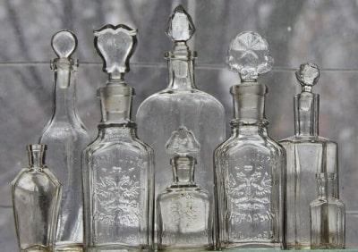 Идентификация и оценка бутылок, посуды и пр.