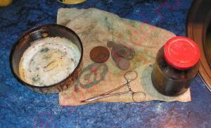 Варка монет в масле и делаем какалик похоим на монету. - 4.jpg