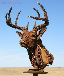 Скульптуры из металлолома. - pOmjcAzCK28.jpg