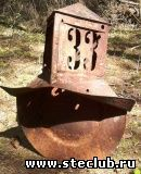 винтажный домовой фонарь домовой знак - 2075180.jpg