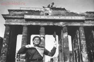 Регулировщица у Бранденбургских ворот. Берлин. Май 1945 года..jpg Источник: http: forum ?mode=reply amp;f=160 amp;t=5301 ixzz3ZTmea7Xm - Регулировщица у Бранденбургских ворот. Берлин. Май 1945 года..jpg