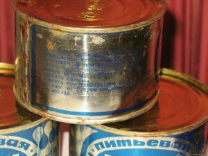 Питьевая консервированная вода в жести. СССР 1984г. - 0440223.jpg