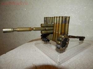 Поделки из патронов и гильз - пушка из гильз.jpg