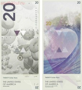 Изображение прибоя в Малибу - новые 20 долларов.jpg