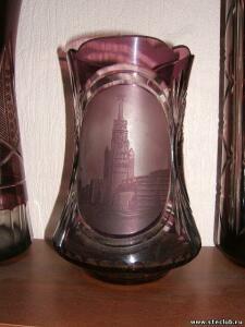 Куплю вазы, кувшины, графины марганцевого стекла - 8773240.jpg
