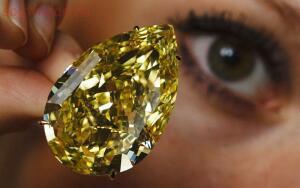 13 Самых дорогих бриллиантов - бриллиант Капля солнца.jpg
