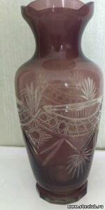 Куплю вазы, кувшины, графины марганцевого стекла - 3392979.jpg