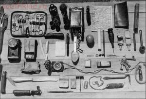 Статья Личные вещи солдат Вермахта. - German_Pocket_Items_1a.jpg