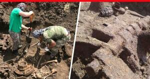 Ростовские поисковики обнаружили останки танкового экипажа - 8971810bf6d79487abeed84cfd204b.jpg