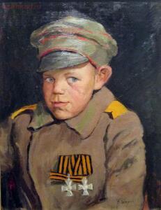 Статут ордена Святого Георгия - Алексей Дьячков, доброволец 98-го пехотного Юрьевского полка..jpg