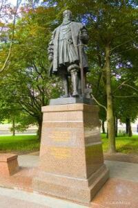 Памятник Герцогу Альбрехту,основателю кёнигсбергского университета. - 1403190323948.jpg