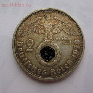 Германия 2 марки 1939г A ,au-xf до 14.04.2016г в 22.00 мск - 1.JPG