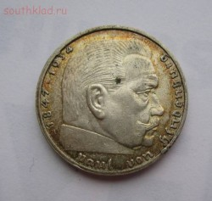 Германия 2 марки 1939г A ,au-xf до 14.04.2016г в 22.00 мск - 2.JPG