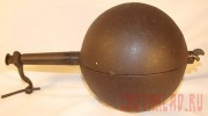 Это – коферостер. Специальная жаровня для обжарки кофейных зёрен - Harrinsston iron coffee roaster «Cannonball» - 20120413_cr01.jpg