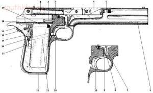 Первые эскизы пистолетов Браунинга и их аналоги, ч1. - 4.jpg
