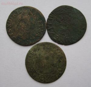 Четыре монеты старой Европы Пруссия ,Польша ,Рига ,Франция Людовик 13 до 11.09.2016г в 22.00 - 2.JPG