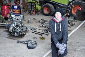 В Дании школьник откопал самолет с останками пилота внутри - самолёт.jpg