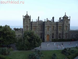 Крым - Воронцовский дворец Алупка  - DSCF1038.JPG
