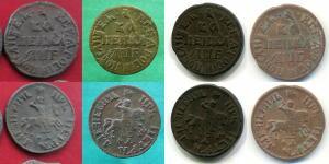 Копии монет Петра I - копейка 1705.jpg