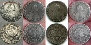Копии монет Екатерины II - полуполтинник 1770.jpg