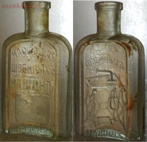 Старинные бутылки: коллекционирование и поиск - левили.jpg