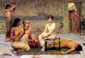Сексуальная жизнь и эротика в Древнем Египте. - Edwin Longsden Long - Love's Labour Lost 1885.jpg