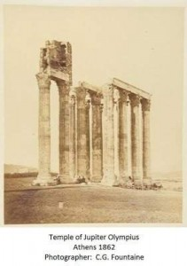 История старого снимка или как монахи на храм Зевса Олимпийского залезли - 5.jpg