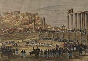 История старого снимка или как монахи на храм Зевса Олимпийского залезли - 7.jpg