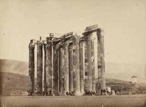 История старого снимка или как монахи на храм Зевса Олимпийского залезли - 3.jpg
