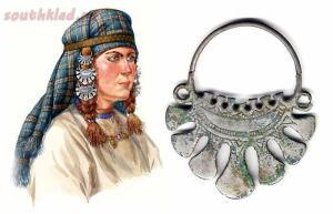 Височные украшения древних славян - хронология, типология, символика - 1.jpg