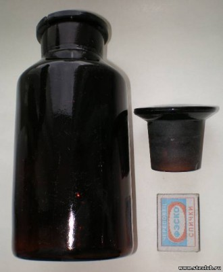 Аптечная посуда коричневого стекла - 5881276.jpg